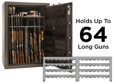 Fatboy Feature Huge 64 Gun Capacity