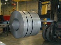 10 ton coiled steel