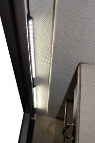 Clearview Wand LED lighting System on both sides!