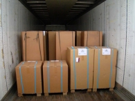 Orders are filled and loaded on trucks