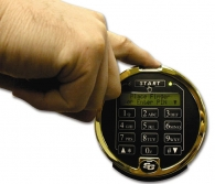 S&G Biometric Electronic Lock with finger reader on top