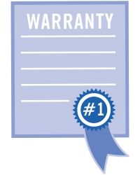 Plus these warranty benefits...for no extra charge!