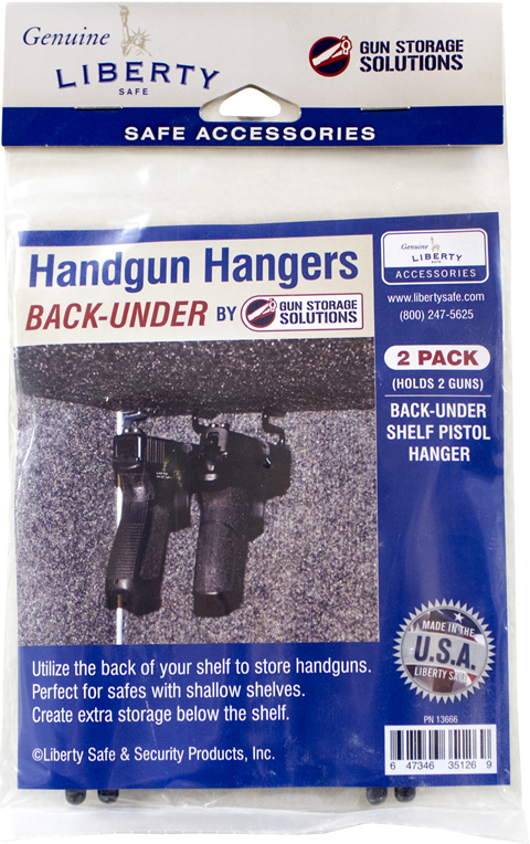 Back Under Handgun Hanger Package
