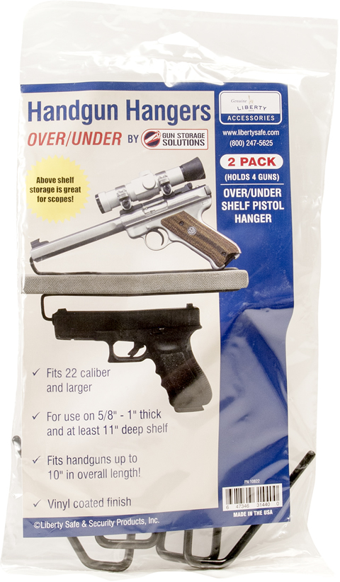 Handgun Hangers Over Under Package