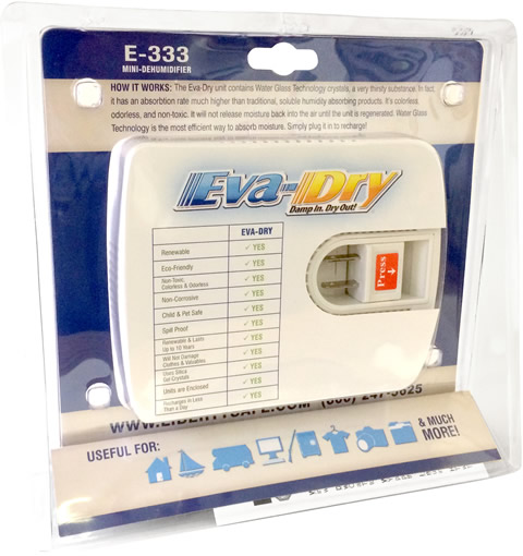 EVA-Dry Dehumidifier Package