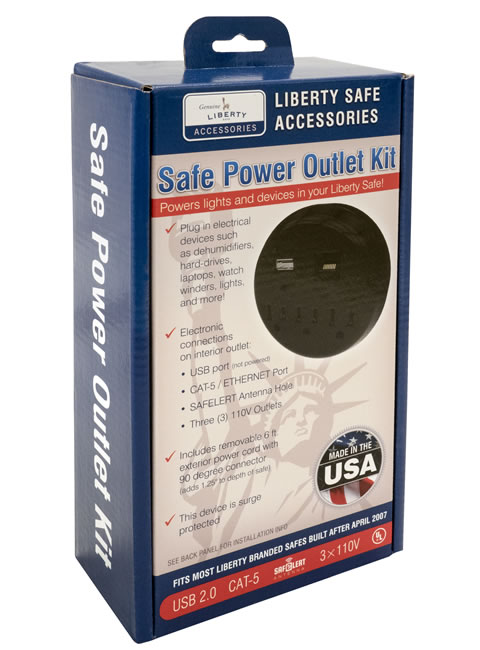 Electrical Outlet Kit Package Front