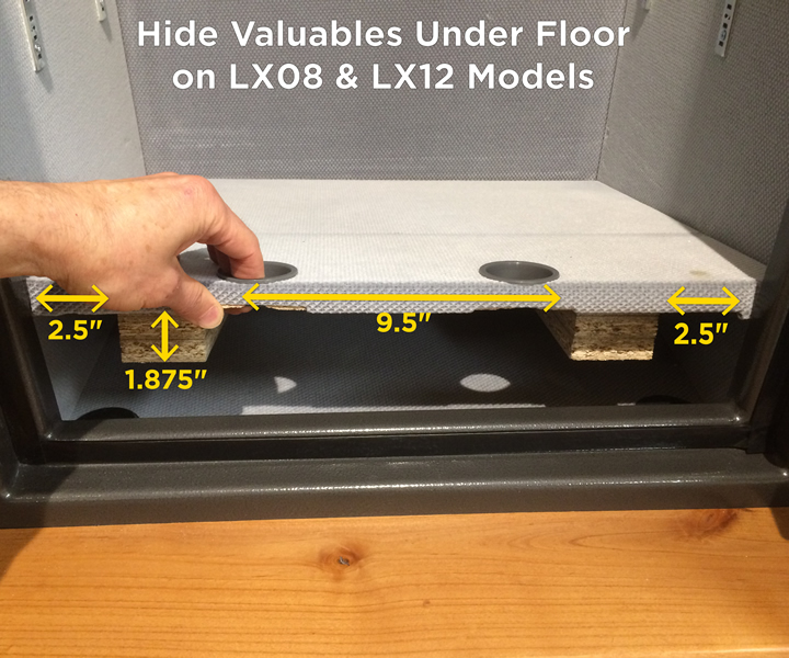 Premium Home Safe Hidden Floor Dimensions