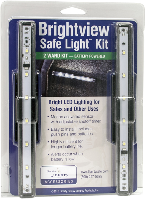 Brightview Safe Light Kit Packaging